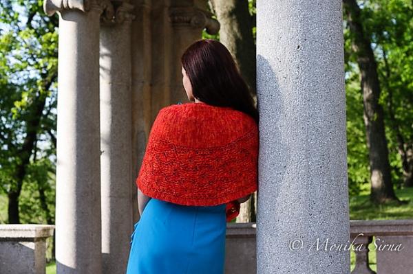 Tiger Lily shawl