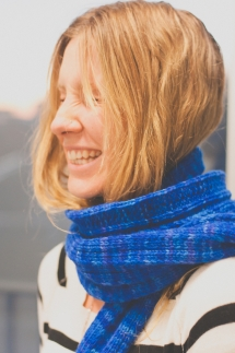 Backroad Scarf worsted