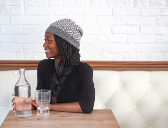 Contrariwise hat slouchy version | thecusserknits.com