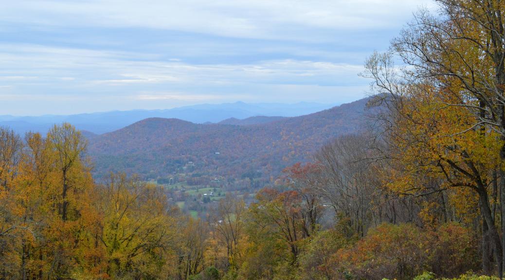 Blue Ridge Mountains | thecusserknits.com