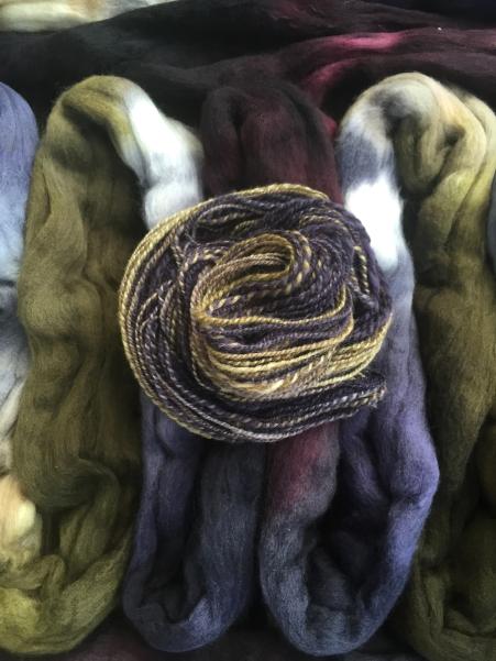 Vetinari fibre and sample | thecusserknits.com