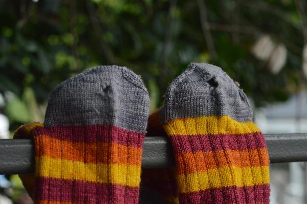 space sock heels